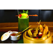3 Course Dinner and Wine for Two at Hilton Park Lane Trader Vic's