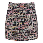 YMC Women's Rainbow Weave Mini Skirt - Multi