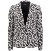 Joseph Women's Abstract Jacquard Jacket - Black/Off White