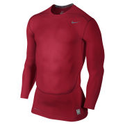 Nike Men's Core Compression Long Sleeve Top 2.0 - Red
