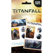 Titanfall Mix - Tattoo Pack - 10 x 17cm