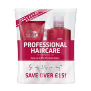 Wella Professionals Brilliance Normal/Fine Hair Shampoo (500ml) and Conditioner (200ml) (save over £15!)