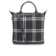 WANT Les Essentiels de la Vie Men's O'Hare Shopper Tote Bag - Multi Navy Hounds