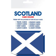 Scotland Real Men/Flag - Card Holder