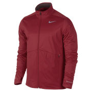 Nike Men's Element Shield Full Zip Running Jacket - Gym Red