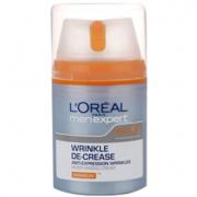 L'Oreal Paris Men Expert Wrinkle De-Crease Anti-Wrinkle Moisturiser (50ml)