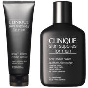 Clinique Cream Shave & Post Shave Healer (Bundle)