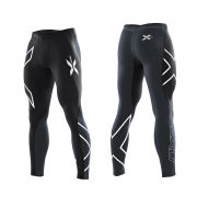2XU Men's Elite Compression Tights - Black/Steel