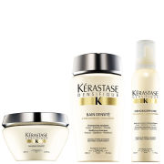 Kerastase Densifique Bain Densite (250ml) Masque Densite (200ml) and Mousse Densimorphose (150ml)