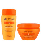 Kerastase Nutritive Shampoo and Treatment for Dry, Curly Hair (Duo)