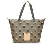 Etc by Orla Kiely Zip Shopper Bag - Sand