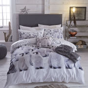 Catherine Lansfield Penguin Colony Bedding Set - Multi