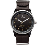Triwa Midnight Lomin Watch - Black