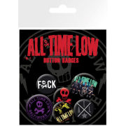 All Time Low Baltimore - Badge Pack