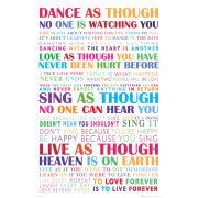 Dance White - Maxi Poster - 61 x 91.5cm