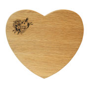 Wireworks Love Heart Shaped Chopping Board