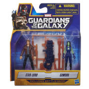 Guardians of the Galaxy Star-Lord and Gamora Action Figures