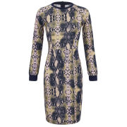 Baum und Pferdgarten Women's Ethena Python Print Sweat Dress - Multi