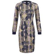 Baum und Pferdgarten Women's Ethena Python Print Sweat Dress - Multi