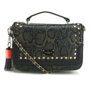 Paul's Boutique Nicole Studded Satchel - Black
