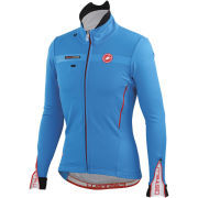Castelli Espresso 3 Jacket - Drive Blue/Red