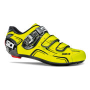 Sidi Level Cycling Shoes - Black/Yellow Fluo - 2015