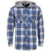 Sonneti Men's DA Hooded Shirt - Blue