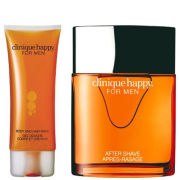 Clinique Happy for Men Duo (100ml Spray, Hair & Body Wash)