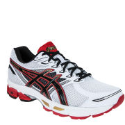 Asics Men's Gel Phoenix 6 Running Trainers - White/Black/Red
