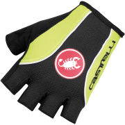 Castelli Free Gloves - Black/Lime/White