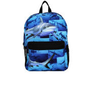 Mojo Shark Graphic Backpack - Blue