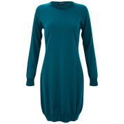 John Smedley Women's Dawn Merino Extra Fine Dress - Egyptian Blue