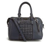 Paul's Boutique Beatrix Studded Bowler Bag - Indigo