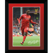 Liverpool Sturridge 14/15 - Framed Photographic - 8x6