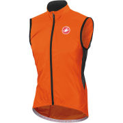 Castelli Velo Windbreaker Gilet - Orange