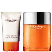 Clinique Happy for Men Duo (50ml Spray, Aftershave Balm)