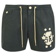 Marc by Marc Jacobs Men's Tree Print Swim Shorts - Orcha Black