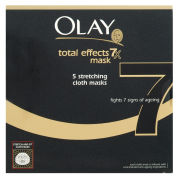 Olay Total Effects Stretching Cloth Masks 5's