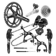Campagnolo Athena 2x11 Carbon EPS Groupset - 53/39