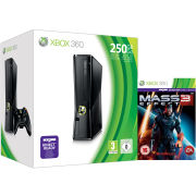 Xbox 360 250GB Console: Bundle (Includes Mass Effect 3)