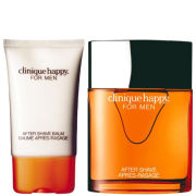 Clinique Happy for Men Duo (100ml Spray, Aftershave Balm)