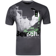 Bench Men's City Car T-Shirt - Charcoal