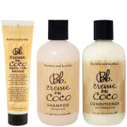 Bumble and bumble Creme De Coco Trio- Shampoo, Conditioner & Masque