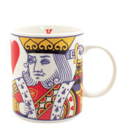 King of Hearts Bone China Mug