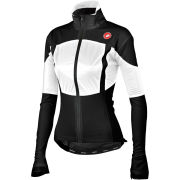 Castelli Women's Confronto Rain Jacket - Black/White