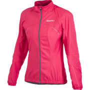 Craft Women's Active Bike Convert Jacket - Pink/Granite