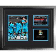 """Manchester City 6-1 Vs Man Utd - High End Framed Photo - 16"""""""" x 20"""""""