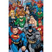 DC Comics Collage - Maxi Poster - 61 x 91.5cm