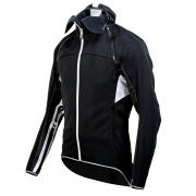 Nalini Black Label Varena Winter Jacket - Black/White