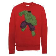 Marvel Avengers Assemble Hulk Men's Sweatshirt - Red